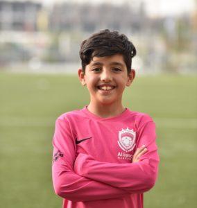 Amir Dasmal Dubai Footballer