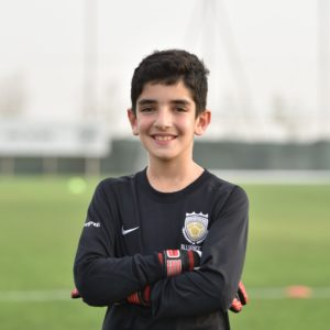 Dubai young goakeeper