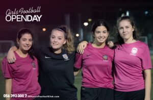Girls football dubai